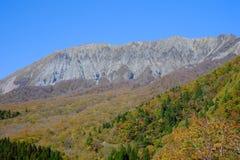 Ett berömt berg Daisen i den Tottori prefekturen i Japan Arkivbilder