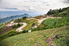 Ett berglandskap av Phu badar Berk Royaltyfria Foton