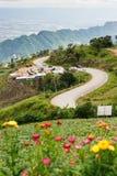 Ett berglandskap av Phu badar Berk Royaltyfri Foto