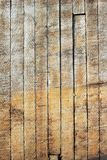Ett bräde av gammal träfoderfärg som en bakgrund Fotografering för Bildbyråer