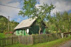 Ett byinvånarehus Fotografering för Bildbyråer