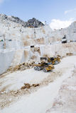 Ett Carrara marmorvillebråd Royaltyfri Foto