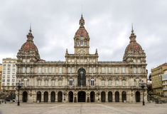 Ett Coruna stadshus Royaltyfri Bild