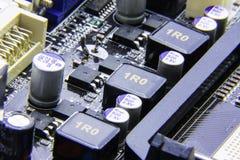 Ett datormoderkort Arkivbilder