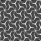 Ett elegantt svartvitt, vektormodell Royaltyfri Bild