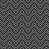 Ett elegantt svartvitt, vektormodell Arkivfoton