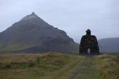 Ett ensamt berg Royaltyfria Bilder