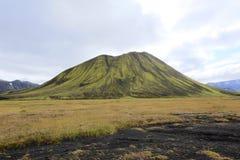 Ett ensamt berg Arkivfoton