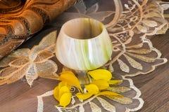 Ett exponeringsglas av onyx Royaltyfri Fotografi