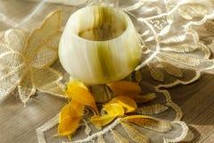Ett exponeringsglas av onyx Royaltyfri Foto