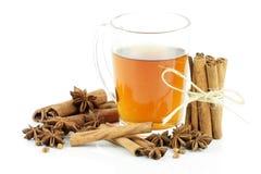 Exponeringsglas av tea Fotografering för Bildbyråer