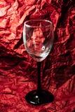 Ett exponeringsglas f?r drinkar royaltyfria foton