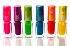 Nailpolish Royaltyfri Foto