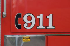 ett felanmälan 911 Royaltyfria Foton