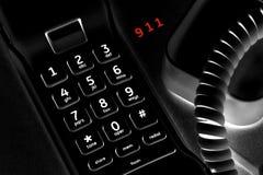 ett felanmälan 911 Arkivbilder