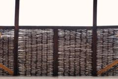 Ett flätat staket arkivbilder