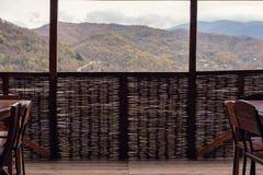 Ett flätat staket royaltyfria foton