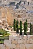 Gammal Jerusalem tempelmontering Royaltyfria Bilder