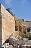Gammal Jerusalem tempelmontering Arkivfoton