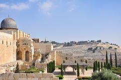 Gammal Jerusalem tempelmontering Royaltyfri Bild