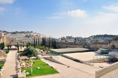 Gammal Jerusalem tempelmontering Royaltyfri Fotografi