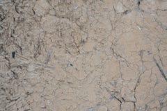 Ett fragment av den gamla leraväggen, bakgrund Royaltyfria Bilder