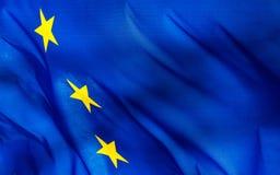 Fragmentet av en Europeiska union sjunker Arkivbild
