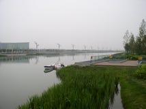 Ett fridsamt ställe i Peking arkivbilder