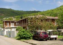 Ett gästhus i det karibiskt Fotografering för Bildbyråer