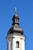 Ett gammalt klockatorn i Pinsk Royaltyfria Foton