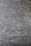 Ett gammalt tegelstenmurverk Arkivbild