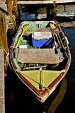 Ett gammalt träradfartyg Arkivfoto
