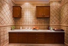Ett hörn av köket Fotografering för Bildbyråer
