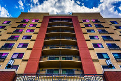 Ett hotell i Gaithersburg, Maryland Royaltyfri Foto