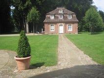 Ett hus av Schloss Clemenswerth Barocco Arkivfoton