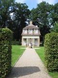Ett hus av Schloss Clemenswerth Barocco Arkivfoto