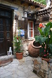 Ett hus i en Cypern by Royaltyfri Foto