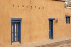 Ett hus i Santa Fe som är ny - Mexiko Royaltyfri Foto