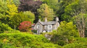 Ett hus i Windermere Royaltyfria Bilder