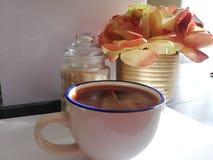 Ett kupakaffe fotografering för bildbyråer