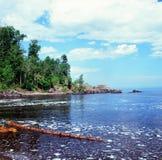 Ett Lake Superior Summerscape - Minnesota Royaltyfri Foto