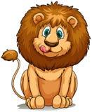 Ett lejon stock illustrationer