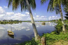 Hoi-an lakes, vietnam 5 Royaltyfria Bilder