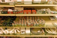 Ett maskinvarulager i det karibiskt Royaltyfri Foto