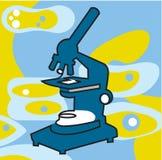 Ett mikroskop Royaltyfri Bild