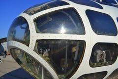 Ett militärt flygplan 30 Fotografering för Bildbyråer