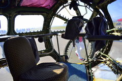 Ett militärt flygplan 30 inom Royaltyfria Foton