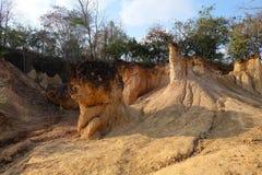 Ett mirakel av naturen, Phae Mueng Phi Royaltyfria Bilder