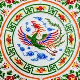 Ett mytiskt djur, kines Phoenix royaltyfria bilder