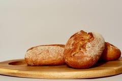 Ett närbildfoto av hurtigt tyskt bröd som bakas nytt och som är läckert royaltyfri fotografi